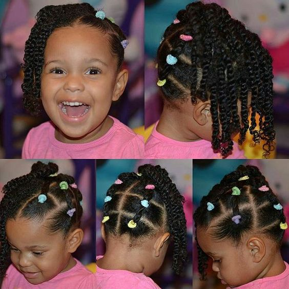 30 Cute And Easy Natural Hairstyle Ideas For Toddlers Coils Glory