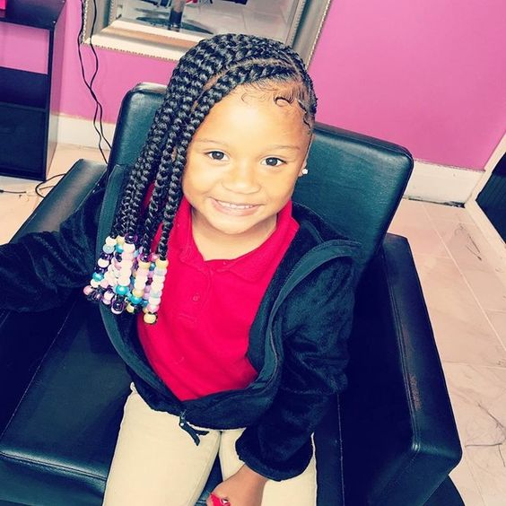 black toddler hairstyles with beads