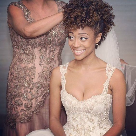 30 Beautiful Wedding Hairstyles For African American Brides