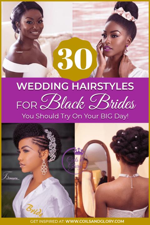 natural hair brides hairstyles