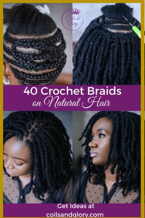 40 Stylish Crochet Braids Styles You Should Try Next Coils Glory