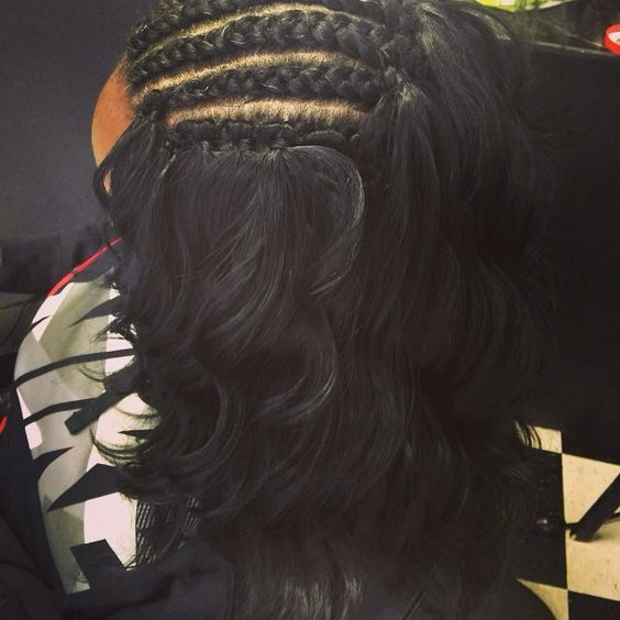 crochet braid with human hair