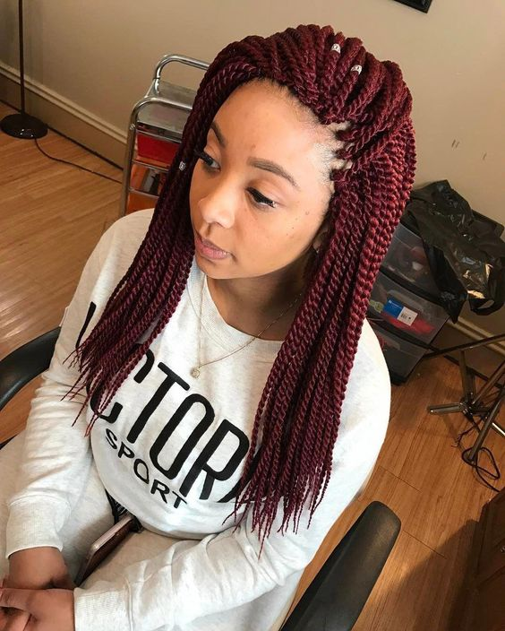 crochet hair with marley twist