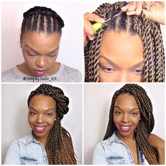 Senegalese Twists Crochet Braid