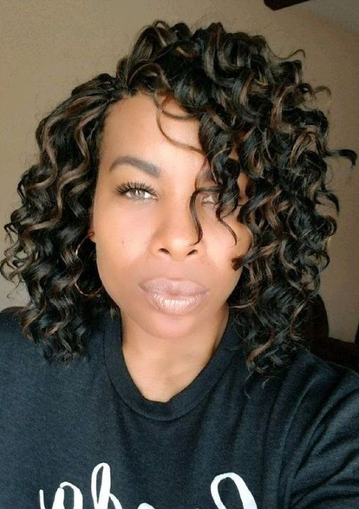 crochet braids on short natural hair