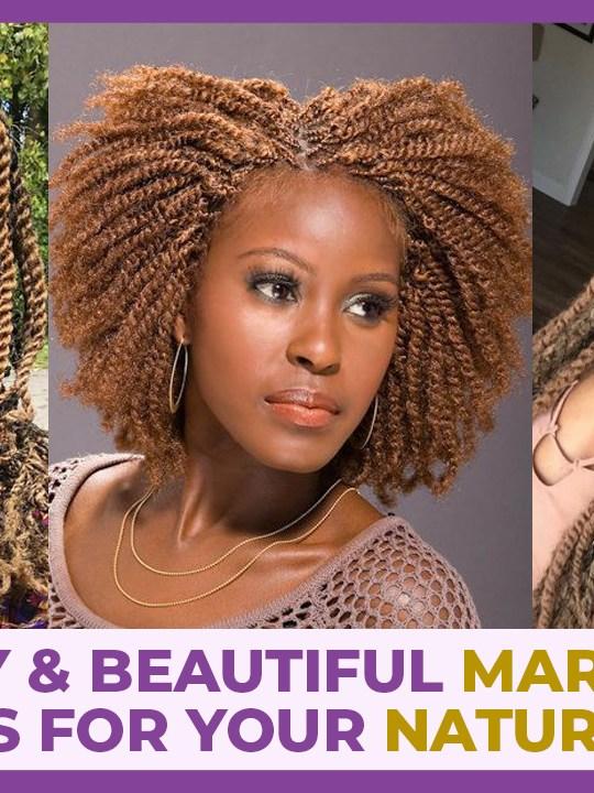 marley twist hairstyles on 4c hair