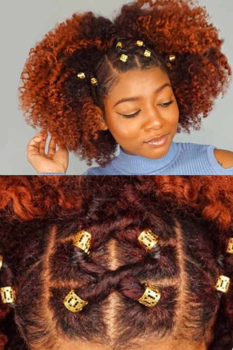 rubber band hairstyles 4c hair