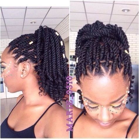How many packs of hair do I need for Marley twists?