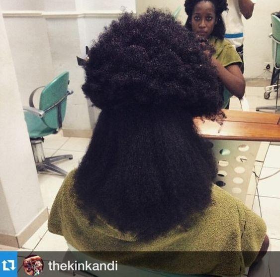 minimize shrinkage in natural hair