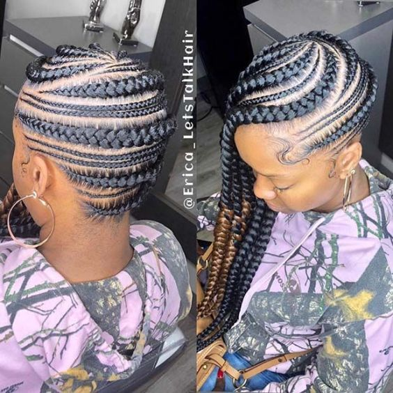 Thin and Thick Braids