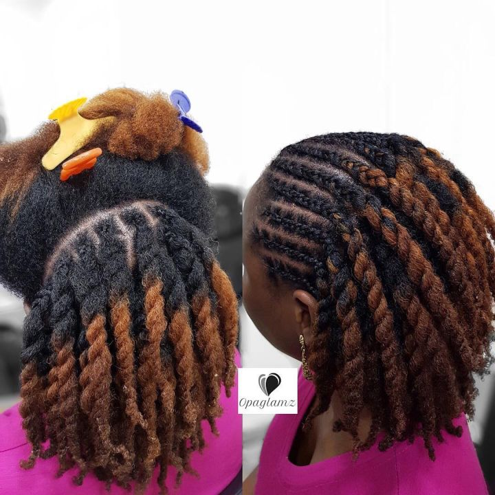 easy twist hairstyles for natural hair