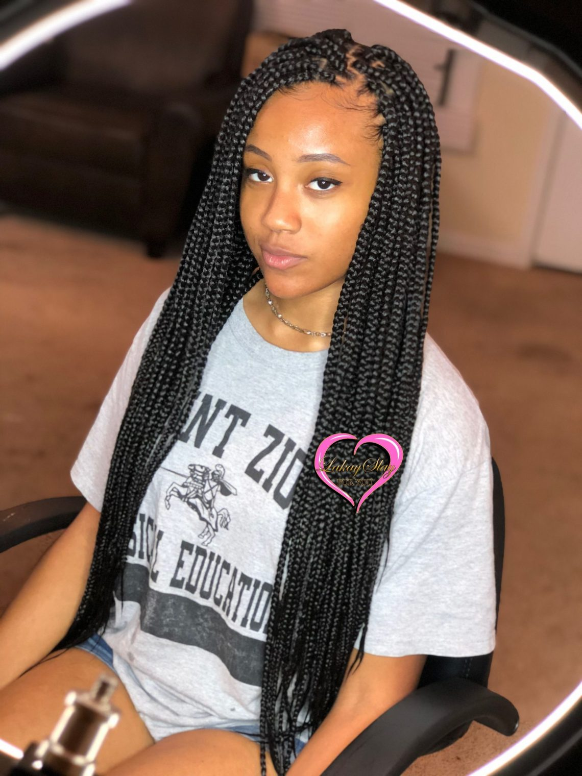 long box braids styles