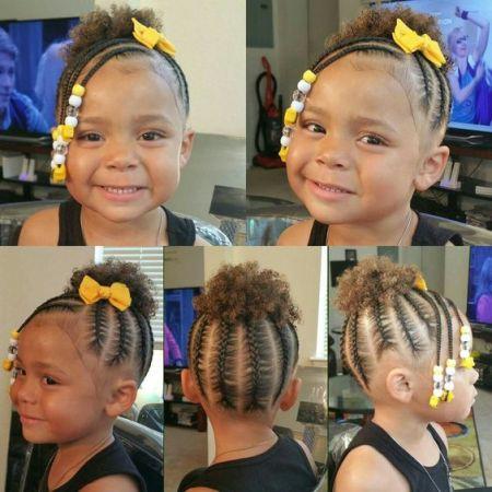 easy little black girl braids