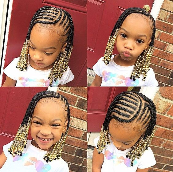 natural hairstyles for kids with short hair