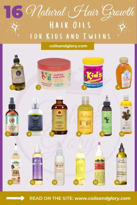 Natural Hair Growth Oils