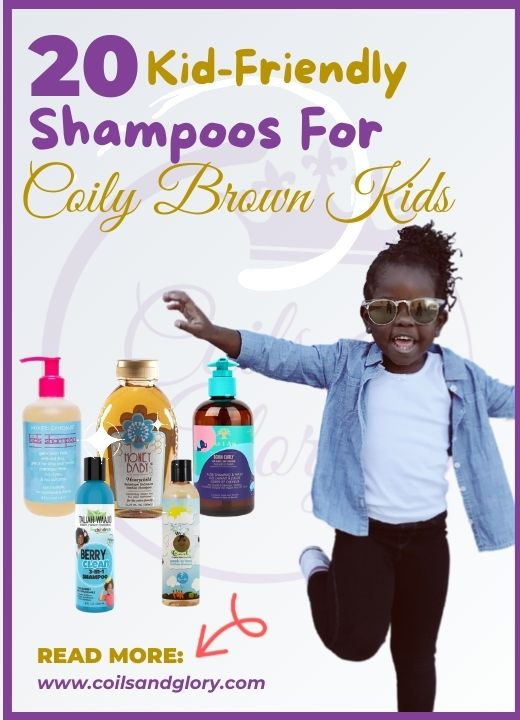 20 Kid-Friendly Shampoos For Coily Brown Kids