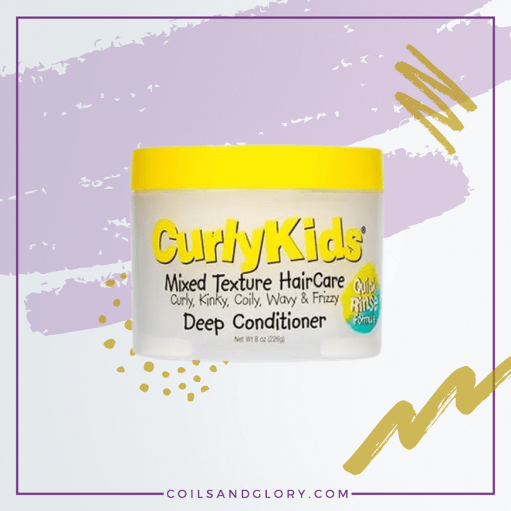 Curly Kids Mixed Hair Texture Deep Conditioner