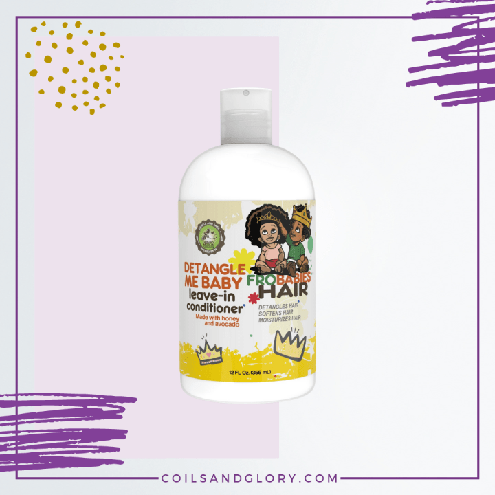 Fro Babies Hair Detangle Me Baby Leave-in Conditioner