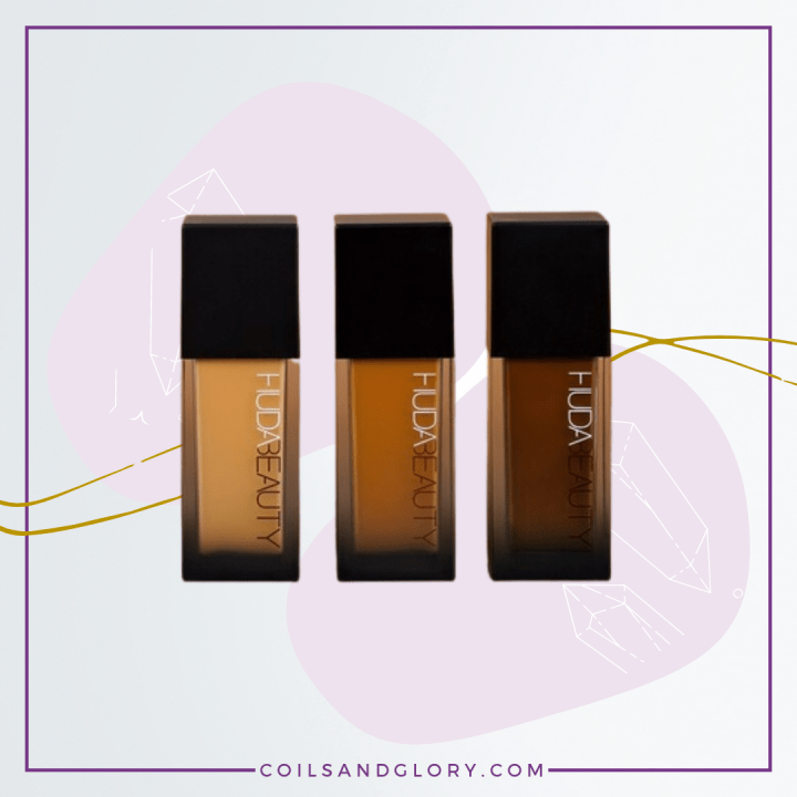 Huda Beauty Faux Filter Foundation For African American Women