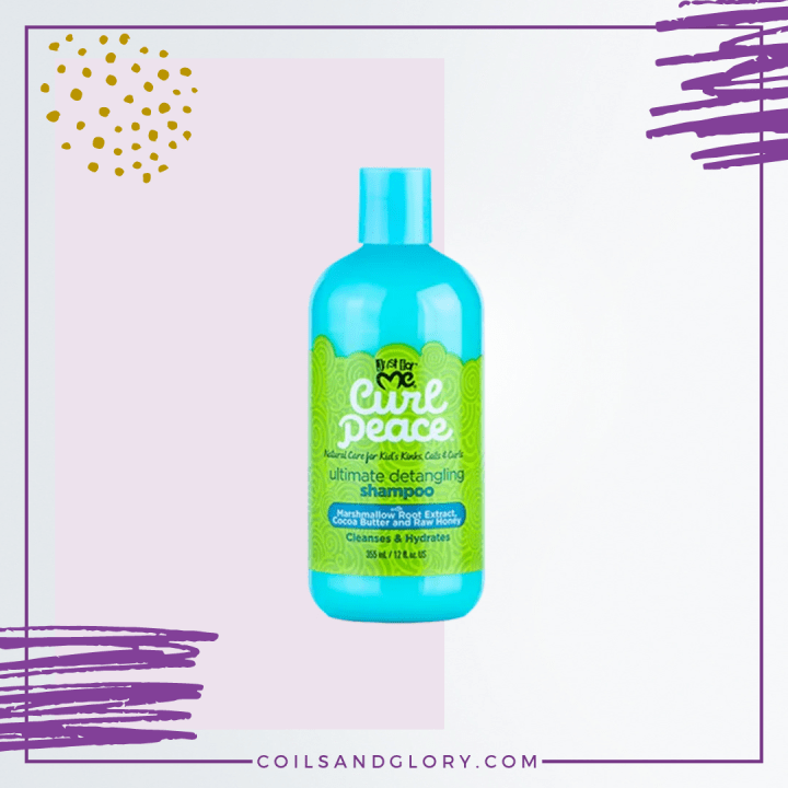 just for me curl peace detangling shampoo for kids natural hair