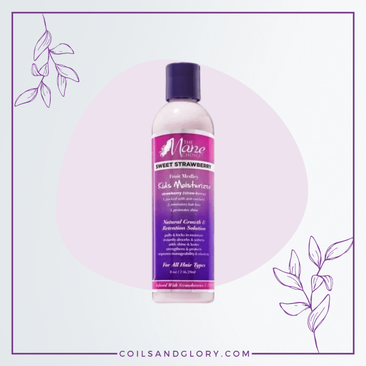 Mane Choice Sweet Strawberry Fruit Medley Detangling Leave-In Conditioner