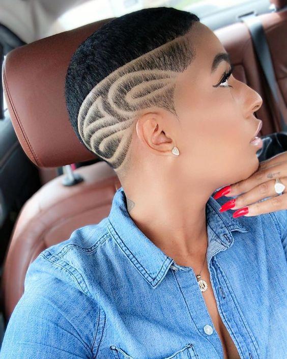 female fade haircut designs