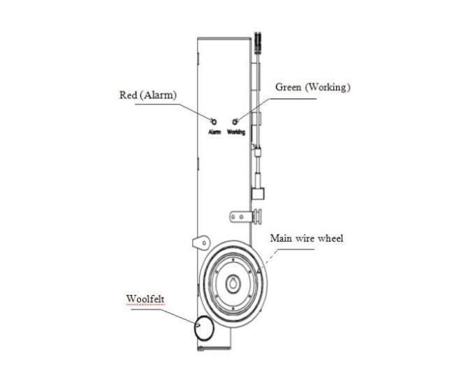High Precision Coil Winding Tensioner Servo Tension