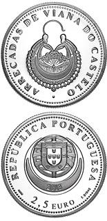Commemorative 2.5 euro coins. The 2.5 euro coin series