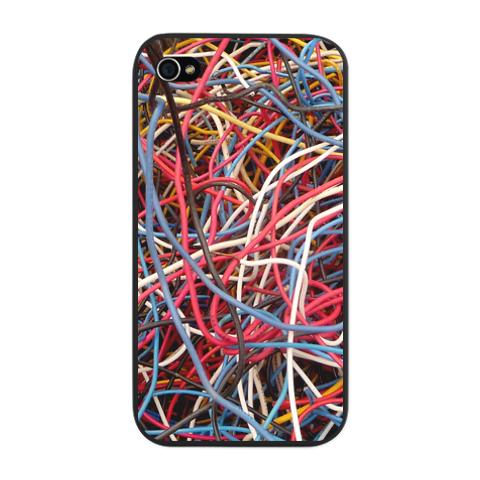 wires_iphone_snap_case