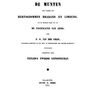 p.o. van der chijs braband limburg deel 1