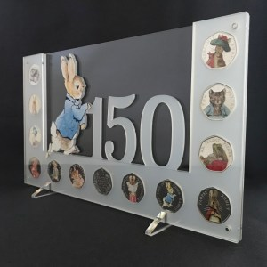 Perspex Coin Display Stands