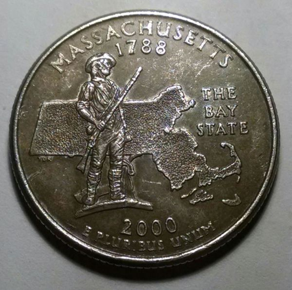 2000 Massachusetts Quarter Mint Error Coin Community Forum