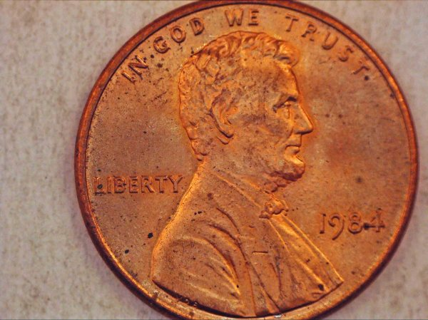 1984 Cent Double Ear Coin Community Forum - Year of Clean Water