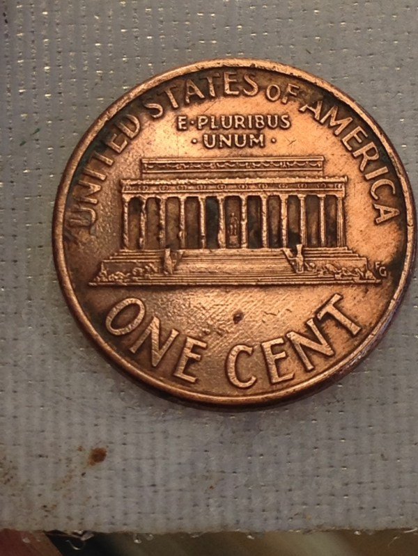 1996 Lincoln Penny Error Coins - Year of Clean Water