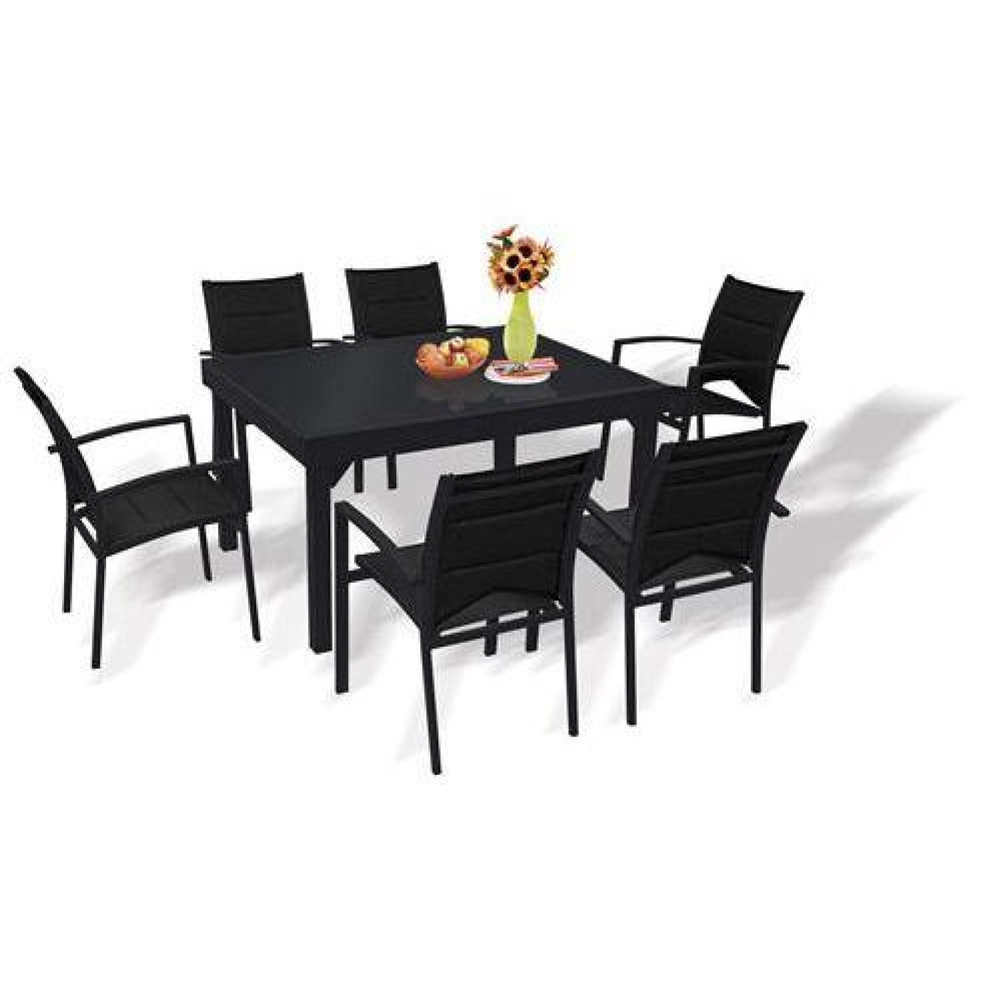 table et chaises de jardin ensemble modulo blatt achat vente salon de jardin en aluminium pas cher coindujardin com
