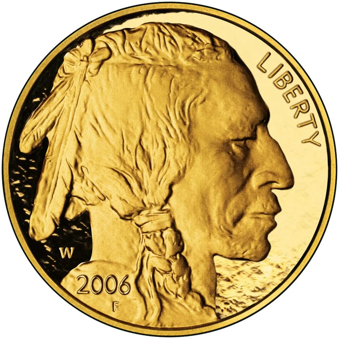 Gold American Buffalo Price