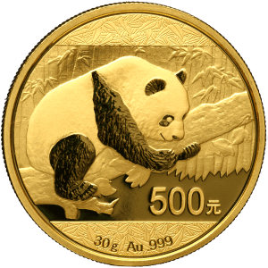 Chinese Mint Gold