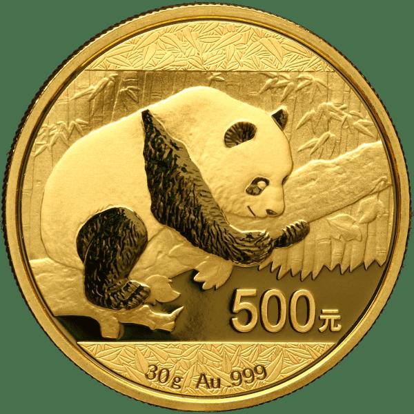 Popular Gold Coins Panda