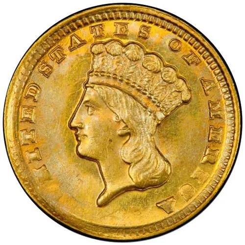 $1 Indian Princess - Type 2