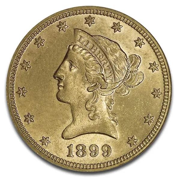 $10 Liberty 1866-1908
