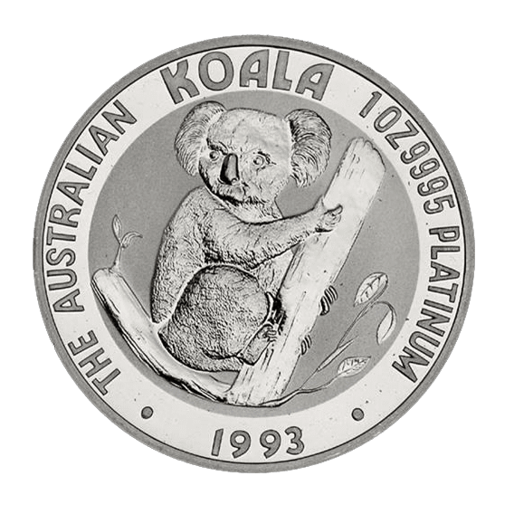 Popular Platinum Bullion Koala