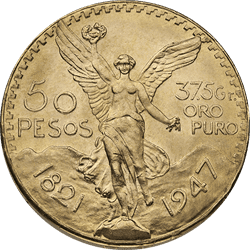 50 Peso Mexican Gold Coins