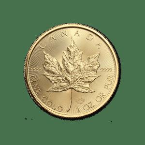 1/4 oz Canadian Gold Maple Leaf
