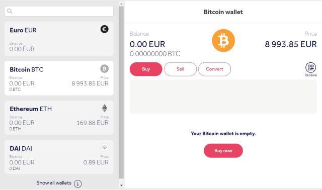 Buy Bitcoin (BTC) in UK credit card