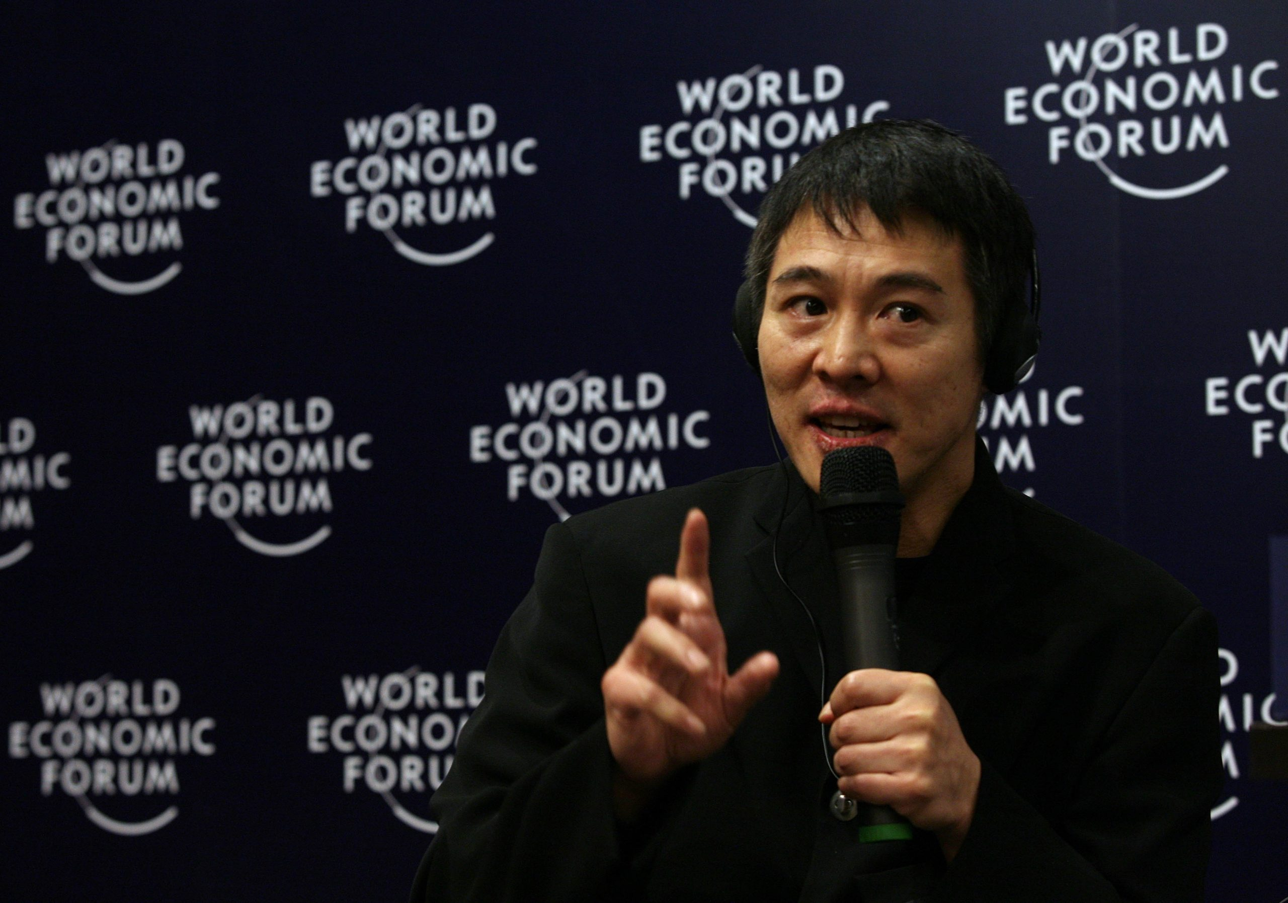 Has Jet Li ever bought Bitcoin or traded cryptocurrency?