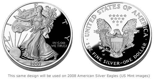 The 2008 American Eagle Silver Proof Coin Is Available For