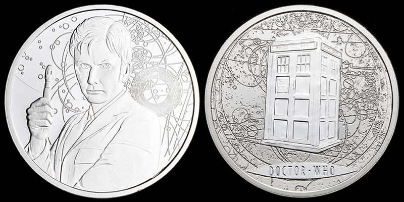 Image result for dr who coin
