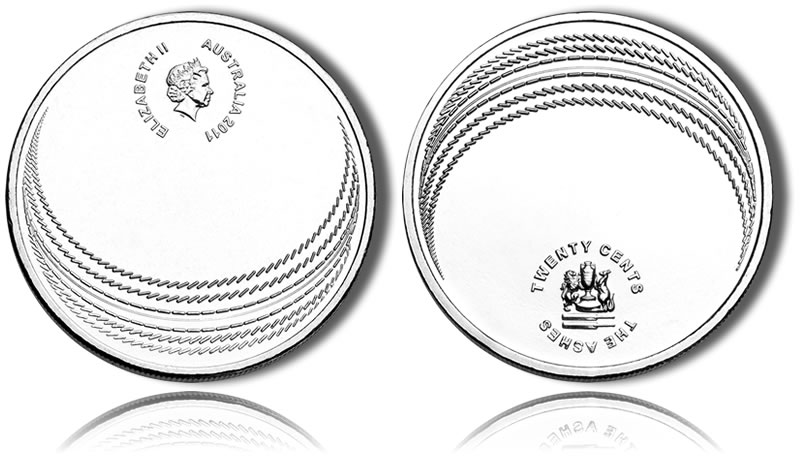 Royal Australian Mint Releases Ashes Cricket Series Coin