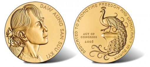 Daw Aung San Suu Kyi Bronze Medal