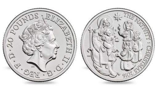 Royal Mint Releases First Christmas Coin Sells At Face